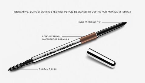 Marc Jacobs brow defining pencil with lid off