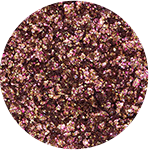 See-quins Glam Glitter Eyeshadow Topaz Flash swatch