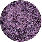 See-quins Glam Glitter Eyeshadow Glamethyst 88 swatch